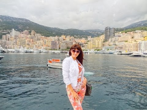 Monaco. Best of Monaco on the Bus and Boat. Round the World Trip, 20