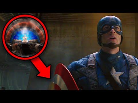 CAPTAIN AMERICA Breakdown! Avengers Endgame Connections & New Easter Eggs! | Infinity Saga Rewatch