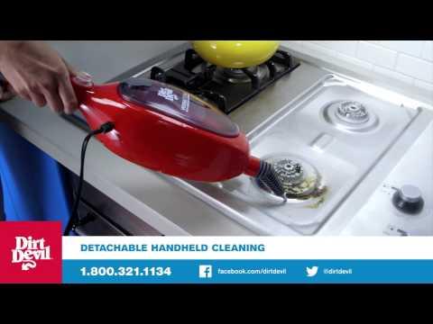 dirt devil versa steam mop manual