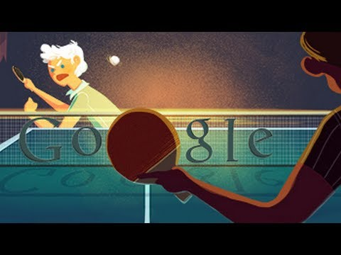 London 2012 Table Tennis - Olympic Doodle