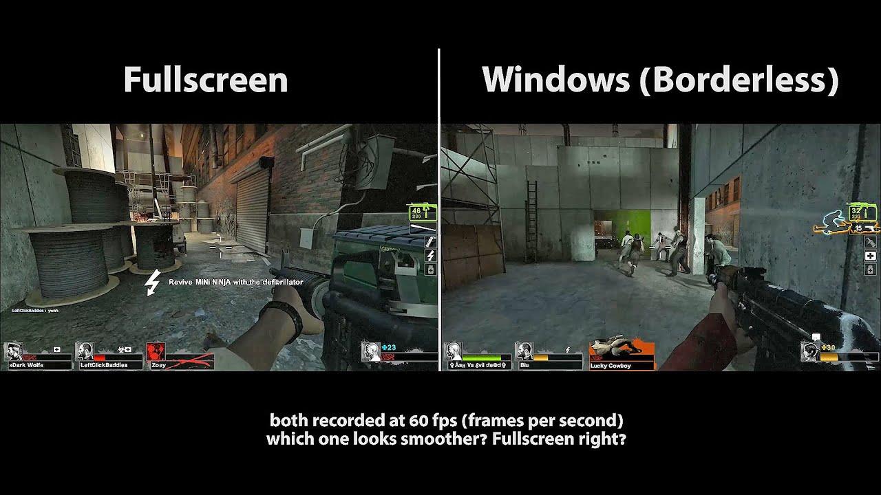 fullscreen windowed csgo