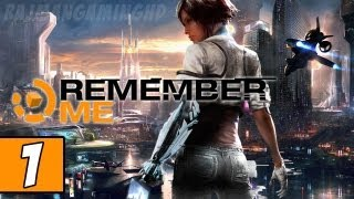 Remember Me PART 1 Playthrough [PS3] TRUE-HD QUALITY