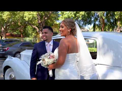 Maria and Santiago wedding highlight