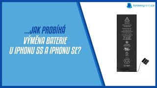 Jak u nás probíhá výměna baterie u iPhonu 5s a SE? - Tvrzenýsklo.cz iPhone Servis Praha