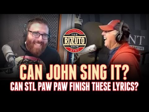 Can John Sing It? Let's see if Paw Paw Patrico can finish these songs! [Rizzuto Show]