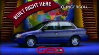 Geo Metro Commercial, Mar 17 1995