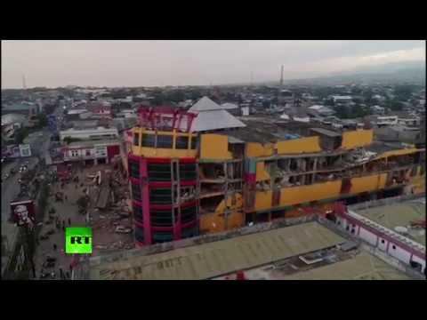 Devastation in Indonesia's Palu: Massive earthquake & tsunami left more than 800 dead