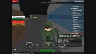 Roblox RM(ROBLOXIA MILITARY)