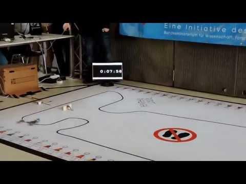 Robotchallenge 2015 Line Follower & Line Follower Enhanced