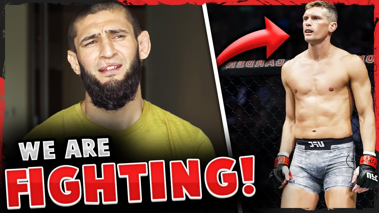 Khamzat Chimaev CALLS OUT Stephen Thompson & says they are fighting NEXT! DC on Tyron Woodley losing