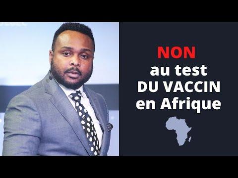 L'heure est grave! COVID-19: Le Révérend Paul Mukendi dit NON au test du vaccin en Afrique!
