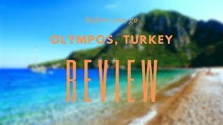 Olympos, Turkey Review - Before You Go
