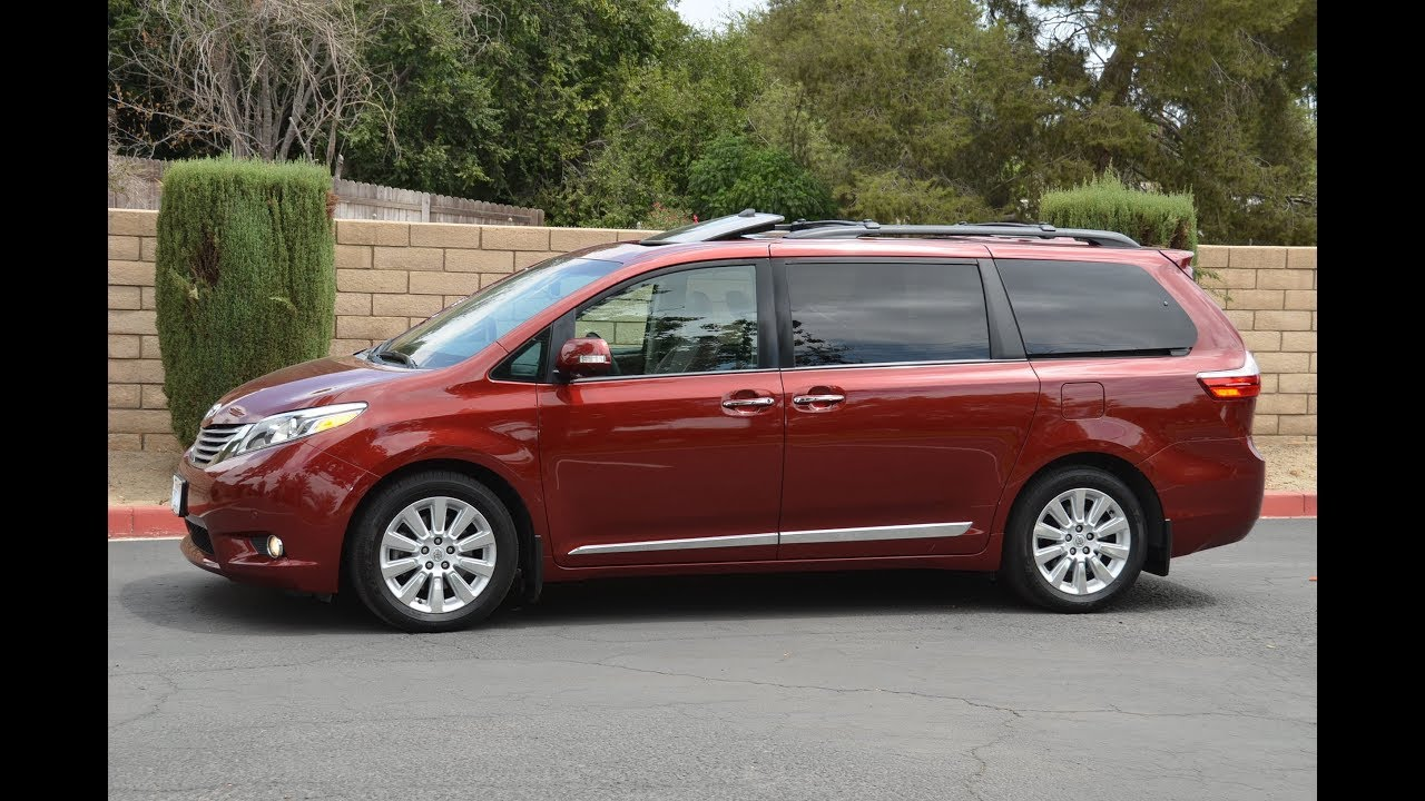 for sale 2015 toyota sienna limited premium total video. Black Bedroom Furniture Sets. Home Design Ideas