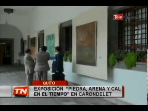Exposición Piedra, Arena y Cal en el tiempo en Carondelet