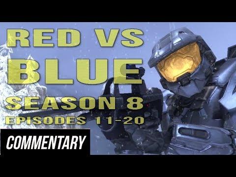 [Blind Reaction] Red vs. Blue - Season 8 Episodes 11-20