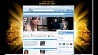 Homepage take over MSN Ola Magnum
