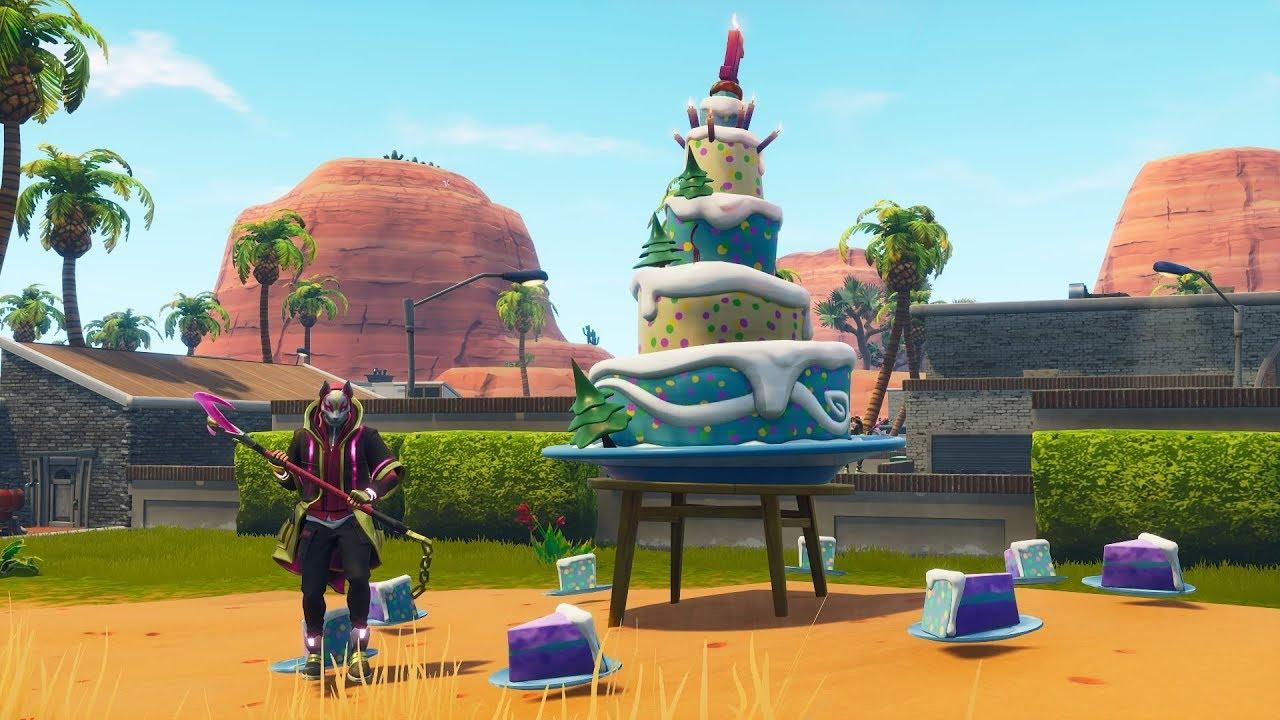All 10 Birthday Cake Locations