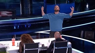 America's Got Talent 2016 Jon Dorenbos Amazing Philidelphia Eagle Magician Live Shows Round 1 S11E12