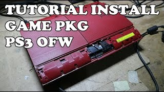 CARA ISI GAME SATUAN PS3 SUPER SLIM METODE PS3 HEN
