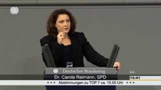 Rede Dr. Carola Reimann (SPD) 2./3. Lesung Gesetz zur Familienpflegezeit (04.12.2014)