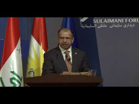 Sulaimani Forum: Iraq's Political Scene: Mapping the Settlement or Settlement of the Map?