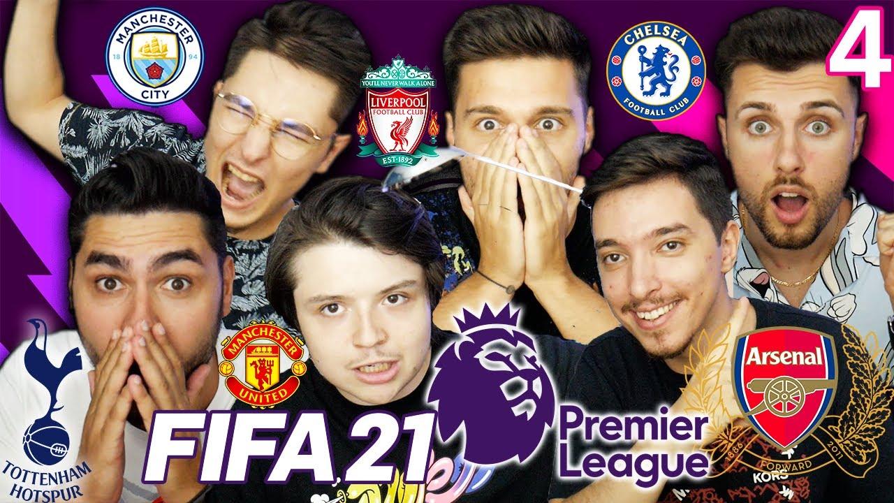 FIFA 21 MECIURI FENOMENALE IN ETAPA 4 DIN CUPA PRIETENIEI FIFA 21 PREMIER LEAGUE !!!
