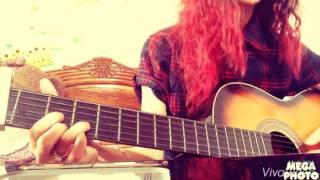 Cứ thế mong chờ guitar cover by Hường Kẹo