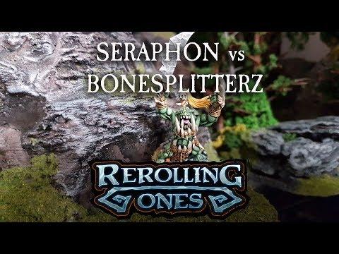 Warhammer: Age of Sigmar Battle Report - Seraphon vs Bonesplitterz