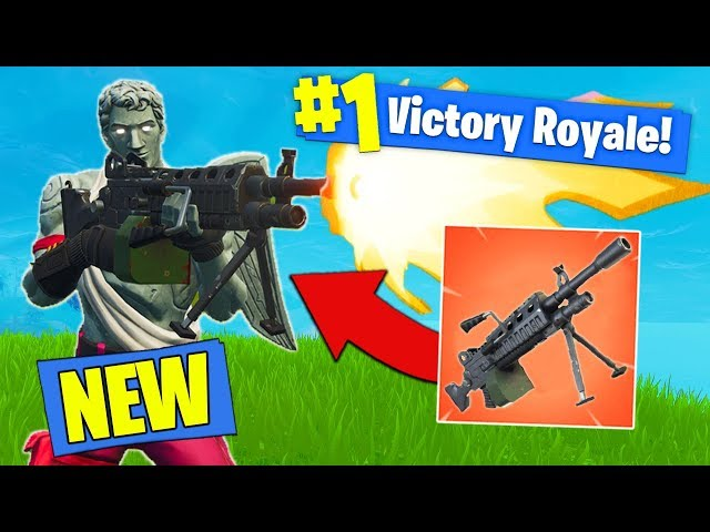 *NEW* EPIC LMG GAMEPLAY In Fortnite Battle Royale!