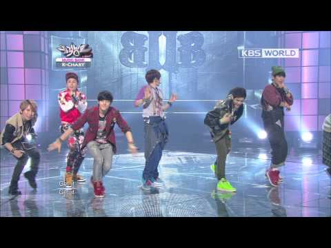 [Music Bank K-Chart] BTOB - WOW (2012.09.26)