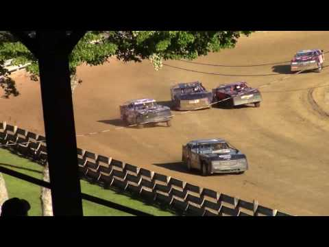 Little Valley Speedway Street Stock Heat Race 7-3-17