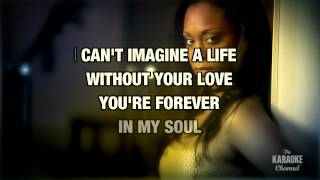 """The Day I Stop Loving You in the Style of """"Oleta Adams"""" with lyrics (no lead vocal)"""