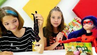 Видео для девочек с Леди Баг - Готовим мини-еду