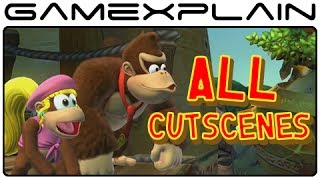 All Cutscenes in Donkey Kong Country: Tropical Freeze (Diddy, Dixie, and Cranky Variations!) thumbnail
