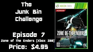 The Junk Bin Challenge Episode 7 Zone of the Enders HD collection (Xbox 360)