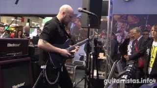 Andy James @ Randall booth (Musikmesse 2013)