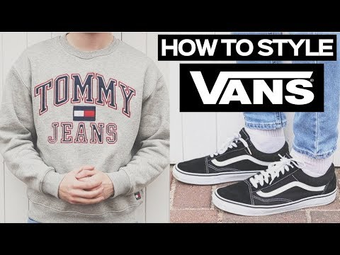 How To Style Vans Old Skools Mens Streetwear Winter