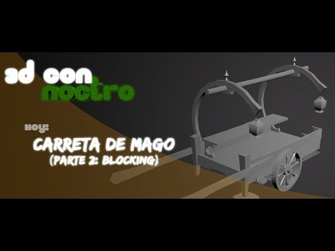 3D Carro y Assets Handpainted (Parte 2: Blocking)