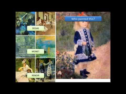 French Impressionist Painters: Video and Quiz