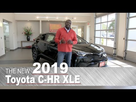 The New 2019 Toyota C-HR XLE | Mpls, St Paul, Brooklyn Center, Coon Rapids, Burnsville, MN | Review