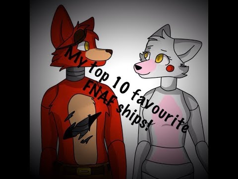 My top 10 favourite FNAF ships