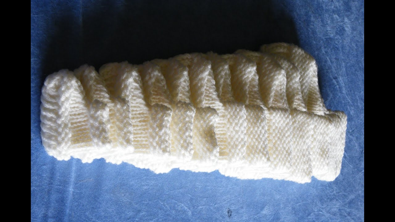 How to loom knit booties from newborn size to adult basic pattern ...