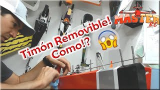 Timón Removible Para tu Avion RC Tutorial