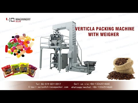 Vertical Packaging Machine With Weighing And Filling System For Snack|vffs Equipment