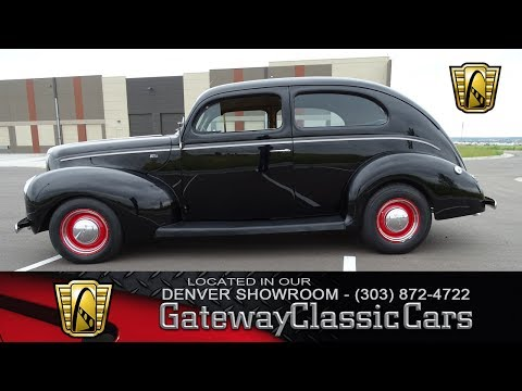 1940 Ford Sedan Now Featured In Our Denver Showroom #7-DEN