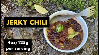 Jerky Chili - Fast, easy backpacking meal | Hiking | Camping