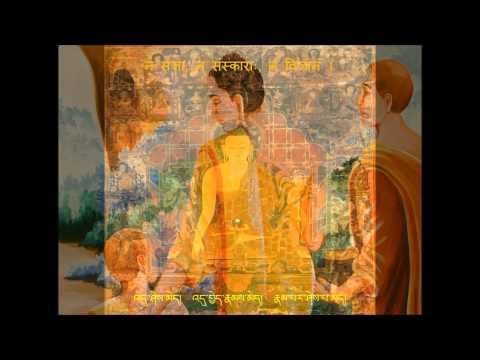 Heart Sūtra in Sanskrit - Vidhya Rao (Eng sub) ཤེས་རབ་་སྙིང་པོ་།