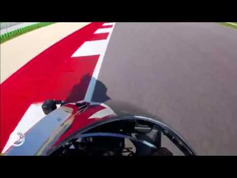 Valentino Rossi sfida il fratello Luca Marini in pista a Misano