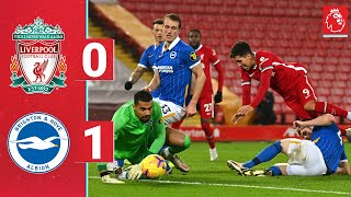 Highlights: Liverpool 0-1 Brighton | Reds beaten at Anfield