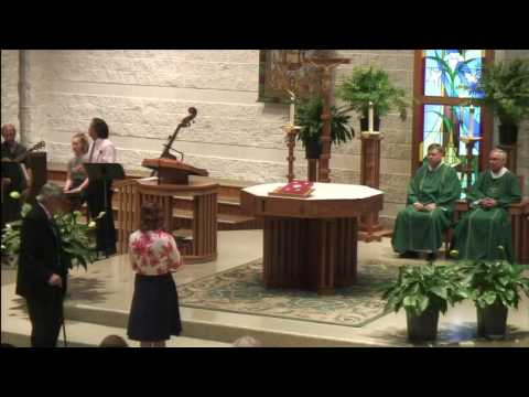 St. Mark Catholic Church Sunday August 14 2016 9:30am Mass